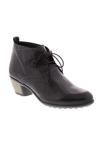moran et s boots femme de couleur noir