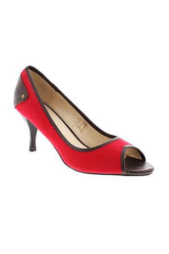 cosmopolitan escarpins femme de couleur rouge