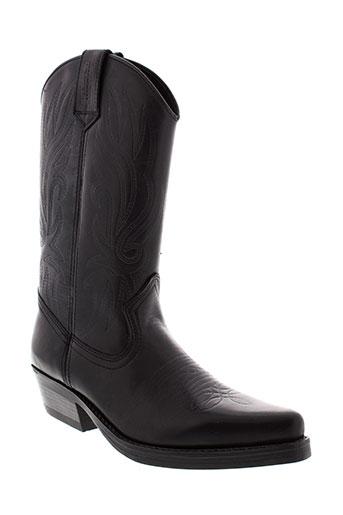 kentucky et s et western boots homme de couleur noir
