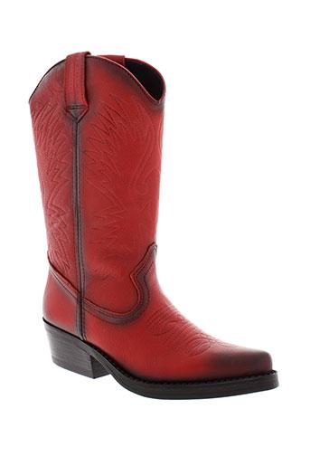 kentucky et s et western boots femme de couleur rouge