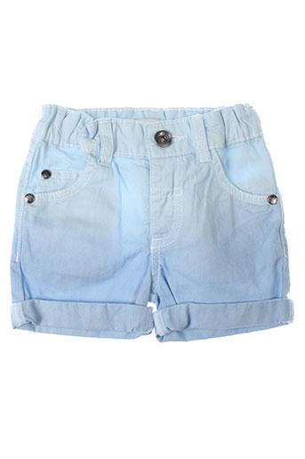 3 et pommes shorts et 1 enfant de couleur bleu (photo)