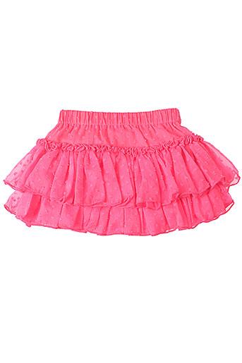 3 et pommes jupes et courtes fille de couleur rose (photo)