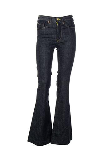Jeans coupe large bleu PAUL SMITH pour femme