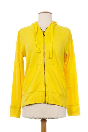 eic-pi happy people vestes femme de couleur jaune