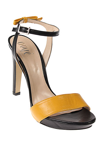 ovye et by et cristina et lucchi sandales et nu et pieds femme de couleur noir
