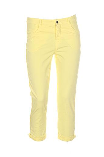 diplodocus pantacourts femme de couleur jaune