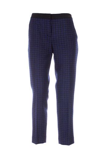 dkny pantalons et citadins femme de couleur bleu