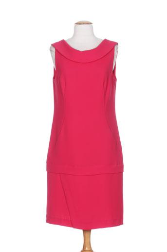hug an' co robes femme de couleur rose