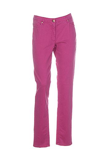caroline et biss pantalons et decontractes femme de couleur rose