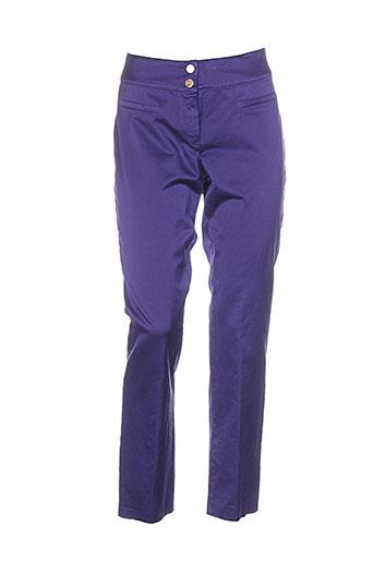 caroline et rohmer pantalons et decontractes femme de couleur violet