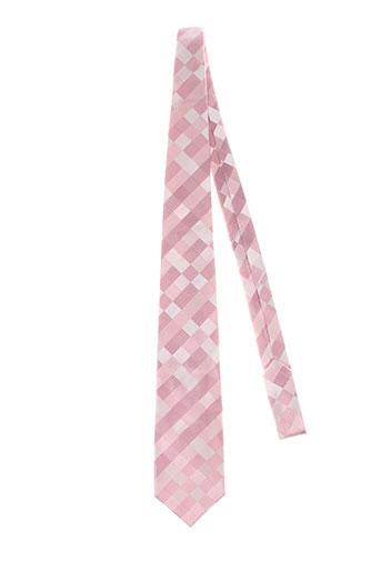 pre end accessoires homme de couleur rose