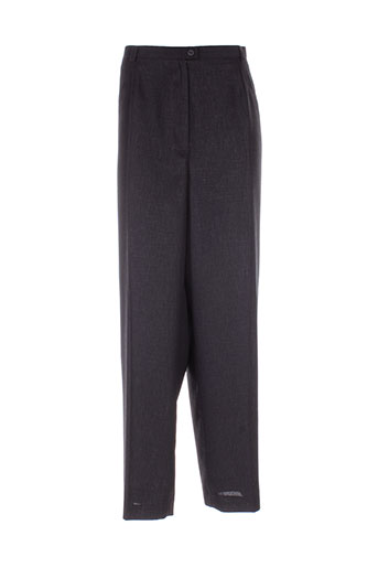 creations sonia pantalons femme de couleur noir