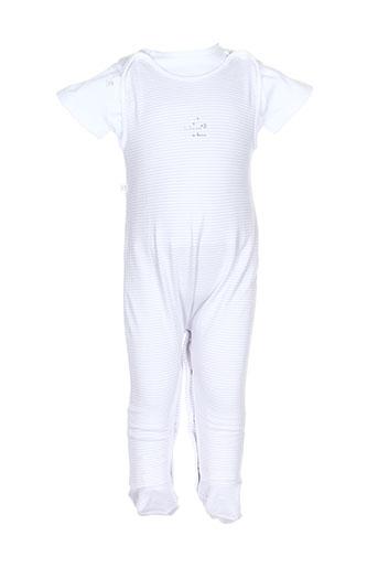 absorba t et shirt et pantalon garcon de couleur blanc