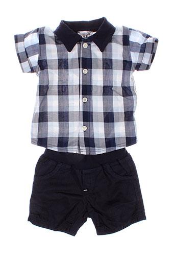 absorba t et shirts et shorts garcon de couleur bleu