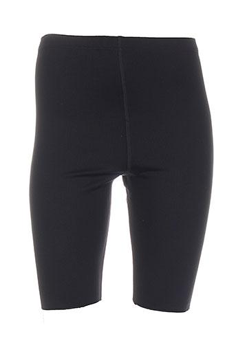 galbeo shorts / bermudas femme de couleur noir