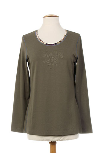 T-shirt manches longues marron SOMMERMANN pour femme