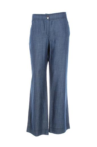 weill pantalons et decontractes femme de couleur bleu