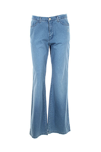 aquajeans jeans et bootcut femme de couleur bleu