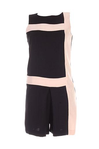 sinequanone combi et shorts femme de couleur noir