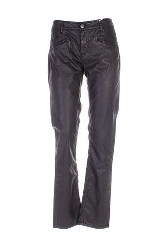 chipie pantalons femme de couleur noir