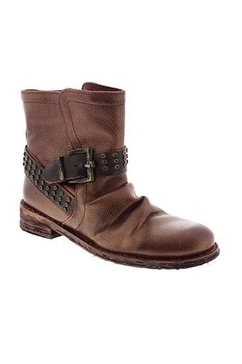 felmini boots femme de couleur rouge