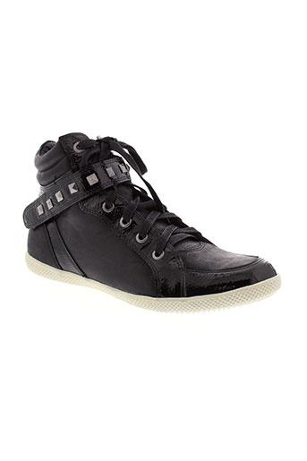 karston baskets femme de couleur noir