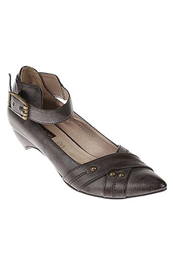 lolablue chaussures femme de couleur marron