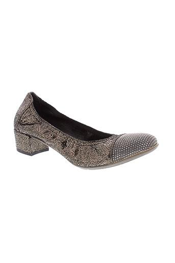 weekend chaussures femme de couleur gris