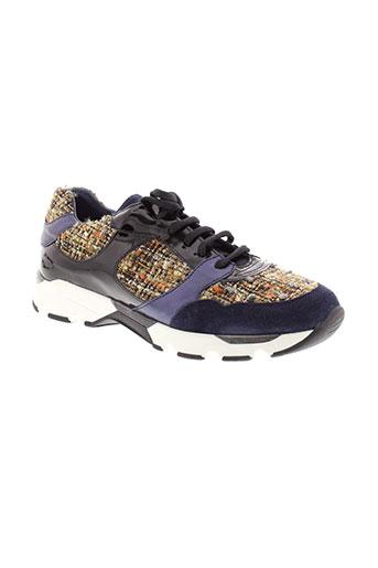 humat chaussures femme de couleur bleu