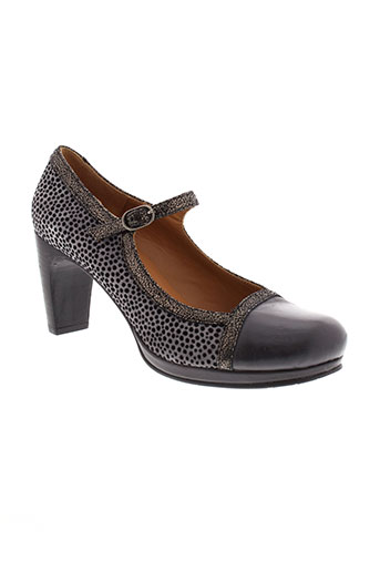 jhay chaussures femme de couleur gris