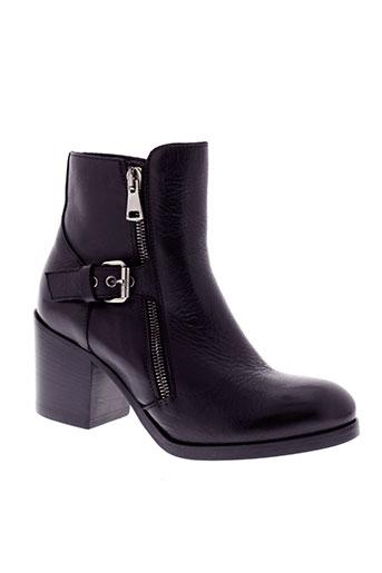 strategia boots femme de couleur noir