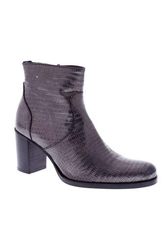 muratti boots femme de couleur gris