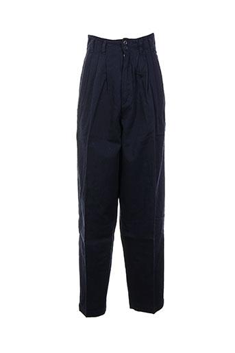 filly ston's pantalons femme de couleur bleu