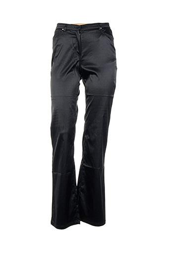 Pantalon casual noir ERNEST pour femme