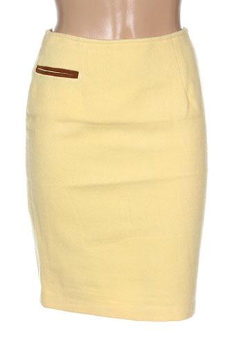leone jupes femme de couleur jaune
