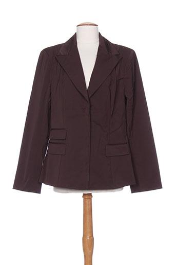 diapositive vestes femme de couleur marron