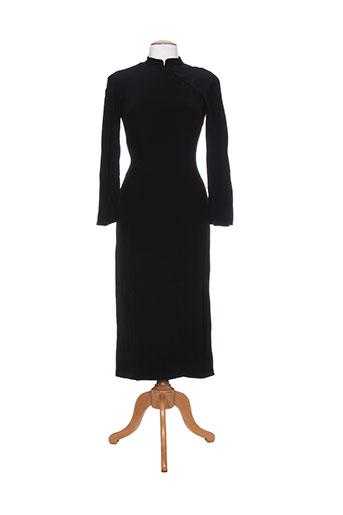 anne elisabeth robes femme de couleur noir