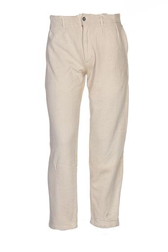 filly ston's pantalons homme de couleur beige