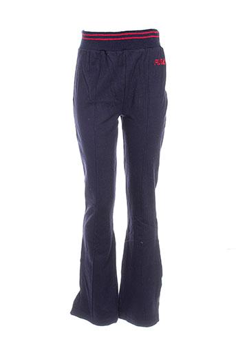fubu pantalons femme de couleur bleu