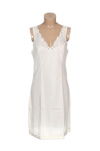 anne et darcey jupons et fonds et de et robe femme de couleur blanc