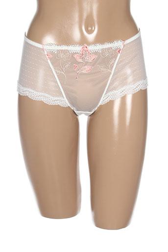 simone perele lingerie femme de couleur blanc