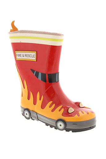 kidorable chaussures garçon de couleur rouge
