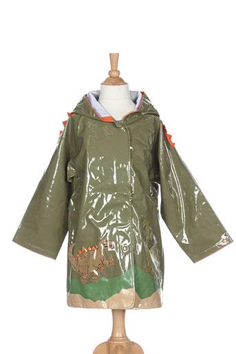 kidorable manteaux garçon de couleur vert