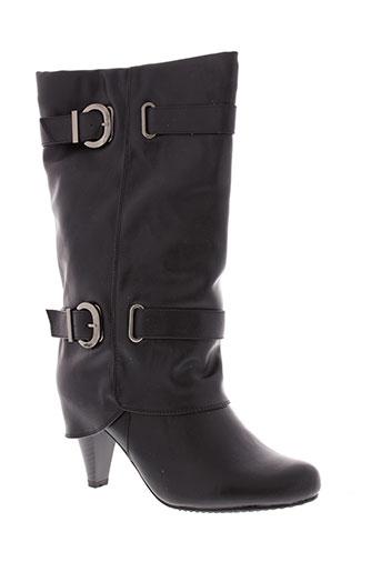 tankka chaussures femme de couleur noir