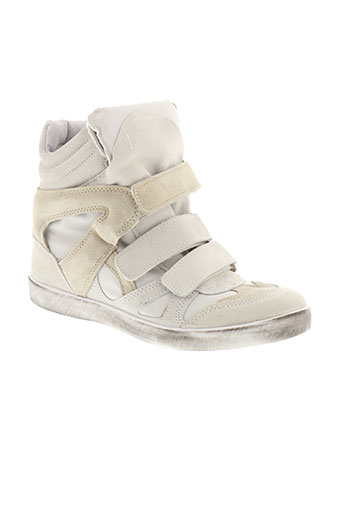 made in italy chaussures femme de couleur blanc