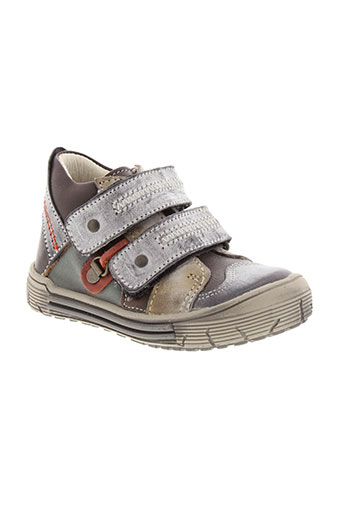 bellamy bottillons garcon de couleur gris