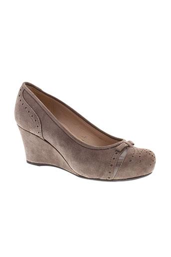 unisa chaussures femme de couleur marron