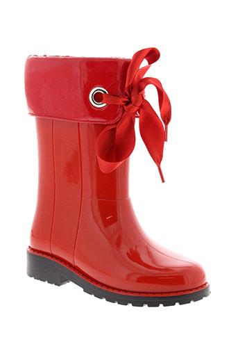 igor chaussures fille de couleur rouge