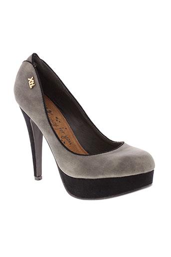 xti chaussures femme de couleur gris