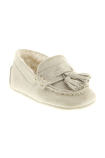 baby chick chaussures garçon de couleur blanc